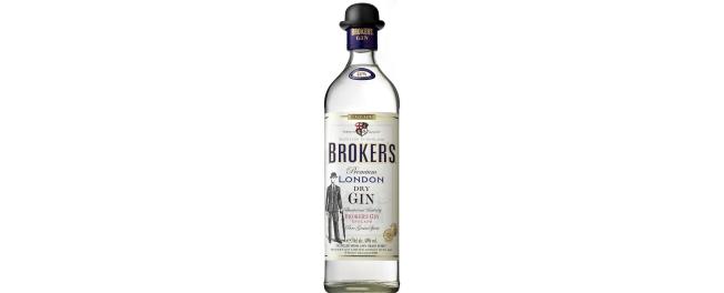 Brokers dry gin 47 vol
